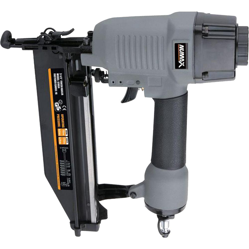 NuMax S2-118G2 2-in-1 Brad Nailer and Stapler
